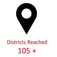 Districts Reached